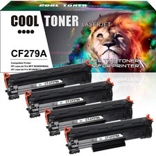4 PACK Toner Compatible for HP 79A CF279A LaserJet Pro MFP M26a M26nw M12a M12w