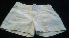 Anthropologie Daughters Of The Liberation Beige Shorts Sz 2 Cute