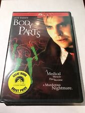 BODY PARTS DVD (1991) Vintage Horror Widescreen OOP Factory Sealed