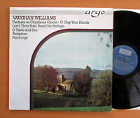 ZK 34 Vaughan Williams Fantasia On Christmas Carols etc Argo Stereo EXCELLENT