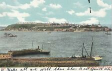 View from Levis QUEBEC QC Canada 1905 Imperial Series Picture Post Card Co. 202
