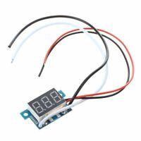 Mini Digital Amperemeter Ammeter Stromanzeige Panelmeter 0-5A Rot LED A3E7