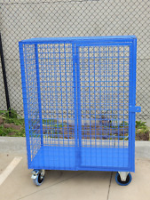 Secure Oxy Cage. Australian Made Industrial Storage