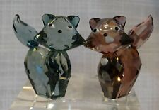 Swarovski Figurines, House Of Cats, Lovlots, Marie & Pierre, 0995011, Mib W/Coa