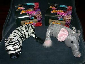 Slinky Pets - Millie Elephant and Eeba Zebra