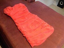 Dotti Boob Tube Dress Orange 👗Size S RRP $69.95