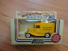LLEDO DAYS GONE - THE TIMES 'FIRST WITH THE NEWS' MODEL A VAN DIECAST MODEL