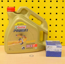 bmw k75 k100 k1 1100 1200 aceite MAHLE Filtro de Castrol Power1 20w50 ACTEVO