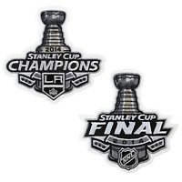 2014 NHL Stanley Cup Final Champions And Playoffs Los Angeles Kings Jersey Patch