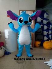 Stitch of Lilo & Stitch Mascot Costume Birthday Party cos Dress Xmas Adults size