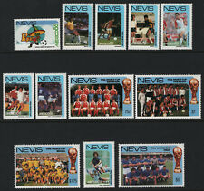 OPC 1986 Nevis Mexico World Cup Championship Set Sc#477-488 MNH