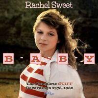 RACHEL SWEET - B-A-B-Y (THE COMPLETE STIFF RECORDINGS) 2 CD NEU