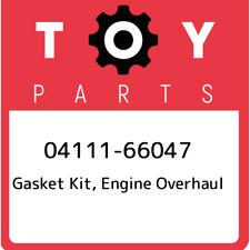 04111-66047 Toyota Gasket kit, engine overhaul 0411166047, New Genuine OEM Part