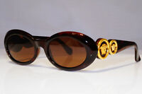 GIANNI VERSACE Mens Womens Vintage Sunglasses Brown GOLD MOD 527 COL 900 24947