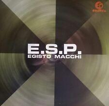 Egisto Macchi – E.S.P. LP OST comp Cometa Edizioni Musicali italian T.V. music