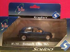 SOLIDO SUPERBE RENAULT CLIO 16S NEUF EN BOITE 1/43 H3