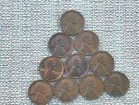 1960-D SMALL LINCOLN PENNY 10 COINS investment.