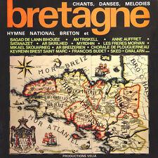 BRETAGNE Hymne National Breton Chants Danse Melodies FR Press Velia 2230028 2 LP