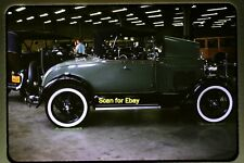 Ford Model A Car at Louisville, KY in 1964, Original Slide aa 8-5a