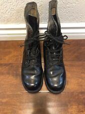 Vintage 1975 Miltiary Combat Boots Bf Goodrich Soles Mens Size 6 W US