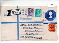 GB - REGISTERED ENVELOPE (14)  - SIZE G - 53.5p + 15.5p - MANCHESTER - 982948