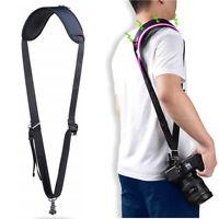 CADeN Camera Shoulder Neck Strap w/Quick Release and Safety Tether for DSLR SLR
