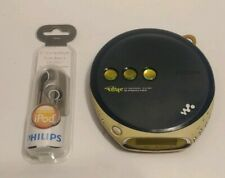 Sony Psyc Cd Walkman D-Ej360 Blue G-Protection Personal Cd Player Tested