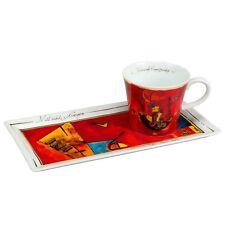 Goebel 2-tlg. Kaffeetassenset mit und gegen Kunst & Kaffee