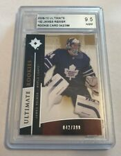 09/10 UD Ultimate Rookies #152 James Reimer ACA Graded 9.5