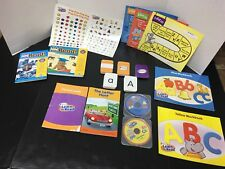 Hooked On Phonics Learn To Read Pre-K And Your Baby Can Read Starter Book
