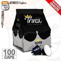 100 Capsule Cialde Caffè TRINCA compatibili Nescafe Dolce Gusto Silver Corposo
