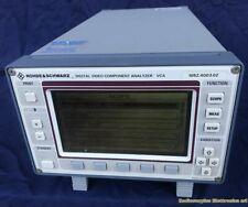 Digital Video Component Analyzer ROHDE & SCHWARZ VCA