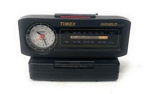 Vintage~Timex Indiglo FM/AM Alarm Clock Radio Nite Light TX282B Original