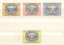 P7453 - SAN  MARINO 1972 - SERIE COMPLETA TEMATICA ALLEGORIE - VEDI FOTO **