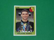 N°87 WARMUZ RC LENS BOLLAERT RCL SANG & OR PANINI FOOT 94 FOOTBALL 1993-1994