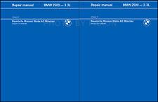 BMW 2500 2800 3.0S Repair Shop Manual Bavaria 1969 1970 1971 1972 1973 1974 1975