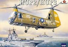 Amodel HUP2/HUP3 HUP 2/3 Helicopter US Army Modell-Bausatz 1:72 Hubschrauber kit