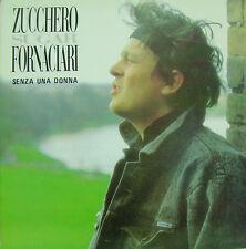 ZUCCHERO SUGAR FORNACIARI-SENZA UNA DONNA MAXI SINGLE VINILO (12 INCH) 1988