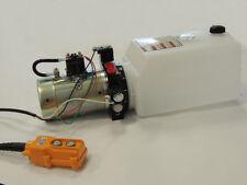 Dump Trailer 12V DC Double Actiion Hydraulic Pump