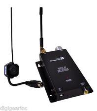 Microcam Wireless Surveillance Camera Kit w/ Receiver & Mini Wireless Camera