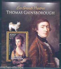 CENTRAL AFRICA 2012 THOMAS GAINSBOROUGH SOUVENIR SHEET MINT NH