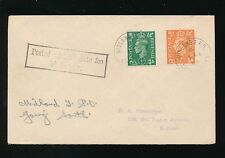 RAILWAY TPO 1949 POSTAGE DUE LATE FEE NOT PAID...MIDLAND GOING SOUTH