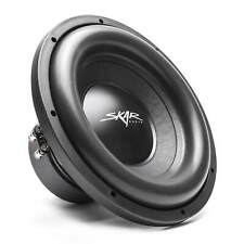 "Skar Audio SDR-12 D2 12"" 1200 W Max potencia Dual 2 ohm subwoofer del coche"
