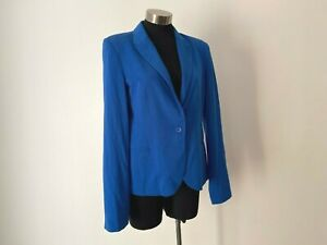 NEW! Seed Heritage Blue Relaxed Blazer Jacket Size 12 M RRP $159.95