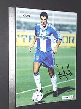 CRAQUES D'O JOGO PORTUGAL 1996-1997 FOOTBALL FUTEBOL PAULINHO SANTOS FC PORTO
