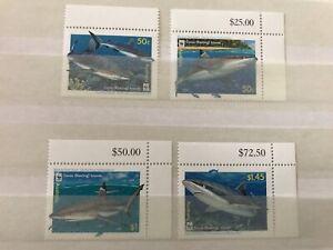 australia - WWF - Sharks - Fauna - stamps - Briefmarken - MNH** Alb.