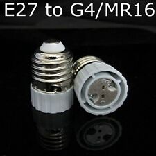 MR16/G5.3 LED Bulb Base Socket Adapter E27 To G4 Lamp Holder Converter