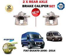 FOR FIAT DUCATO MULTIJET 2.0 2.3 3.0D 2006-2014 NEW 2 X REAR BRAKE CALIPER SET