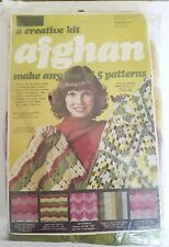 Yarn Kits, Inc. Afghan Kit / Makes 1 of 5 Different Patterns / Knit Crochet #2