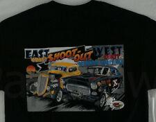 New Drag Racing Large T-Shirt East Coast West Coast Shoot Out Size Large